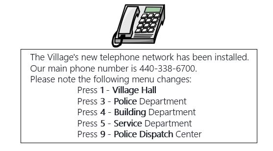 new-telephone-number-website
